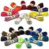 Oval Athletic Shoelaces DELELE Half Round Shoe