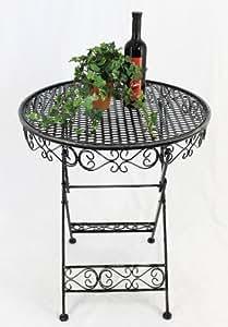 Table Garden Table Sevilla HX12620 Bistrotable D-65cm Side table Folding Table