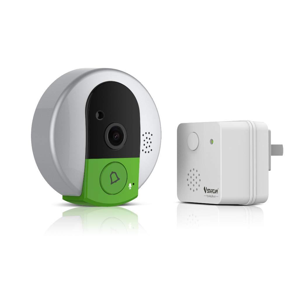 Amazon.com: VStarcam C95-TZ - Timbre para puerta (visión ...