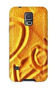 Galaxy note4 Hybrid Tpu Case Cover Silicon Bumper Love Sand