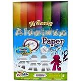 Aluminium Papier A4 - 14 feuilles - Couleurs assorties