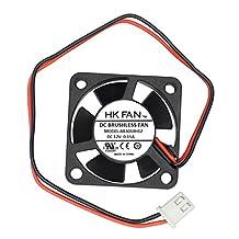 30mm x 30mm x 10mm 3010 12V 0.15A Ball Bearing Brushless DC Cooling Fan 2pin AB3010H12 UL TUV