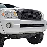 2006 toyota tacoma grill - E-Autogrilles Black Carbon Fiber Look ABS Replacement Mesh Grille Grill with Shell for 05-11 Toyota Tacoma (41-0122CF)