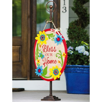 Cheap Bless Our Home Door Hanger