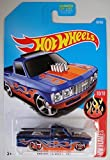 72 chevy toy truck - Hot Wheels 2017 HW Flames Custom '72 Chevy Luv 36/365, Blue