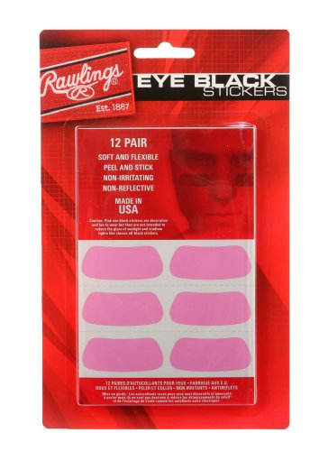 Rawlings Eye Black Stickers (Pink)