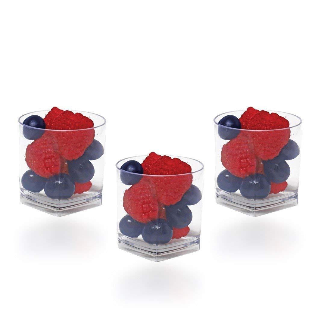 Heavy Duty Plastic Mini Bowl Savings Pack of 24 Majestic Settings Mini Small Bowl Miniature Bowl