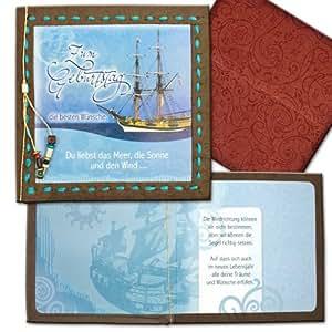 Tarjeta de felicitación de cumpleaños tarjeta de cumpleaños barco saarbrücken tipo carta
