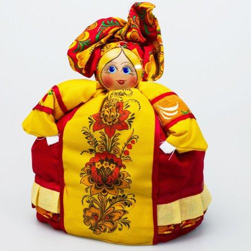 Tea Cozy Doll ''Khokhloma Barynya'' by Handmade
