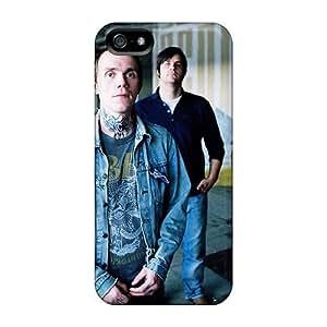 Iphone 5/5s MQl19379ruNj Custom Fashion Guns N Roses Pattern High Quality Hard Phone Cases -RudyPugh