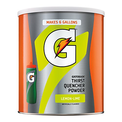 Gatorade Thirst Quencher, Lemon Lime, 51 Ounce Powder ()