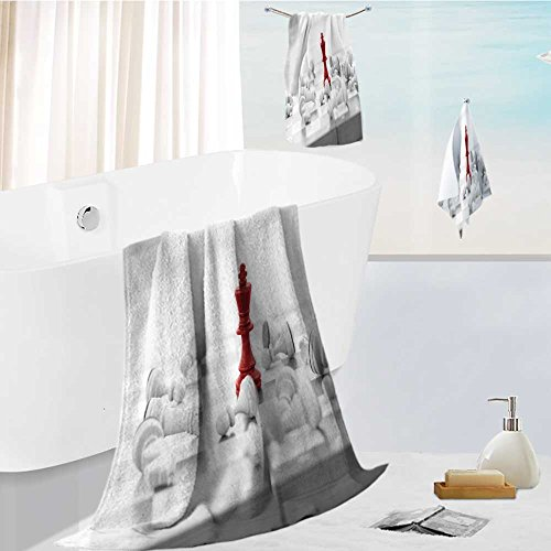 aolankaili Microfiber Outdoor Beach Towel set chess business concept leader success Luxury Hotel Shower Spa Bath Towels
