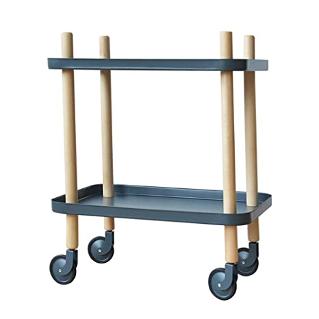Amazon.com: Trolley Chunlan - Carrito de almacenamiento de ...