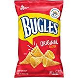 Bugles Original Flavor Corn Chips Bag, 7.5 oz