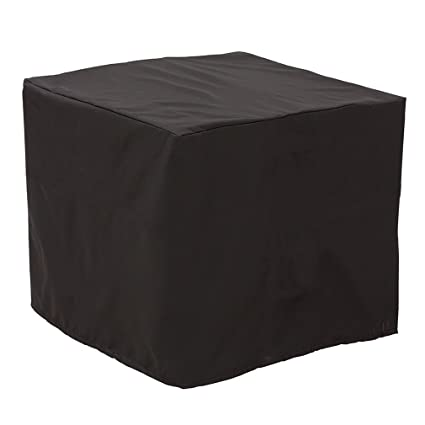 Stanbroil Outdoor 34 Square Air Conditioner Cover, Black, Square