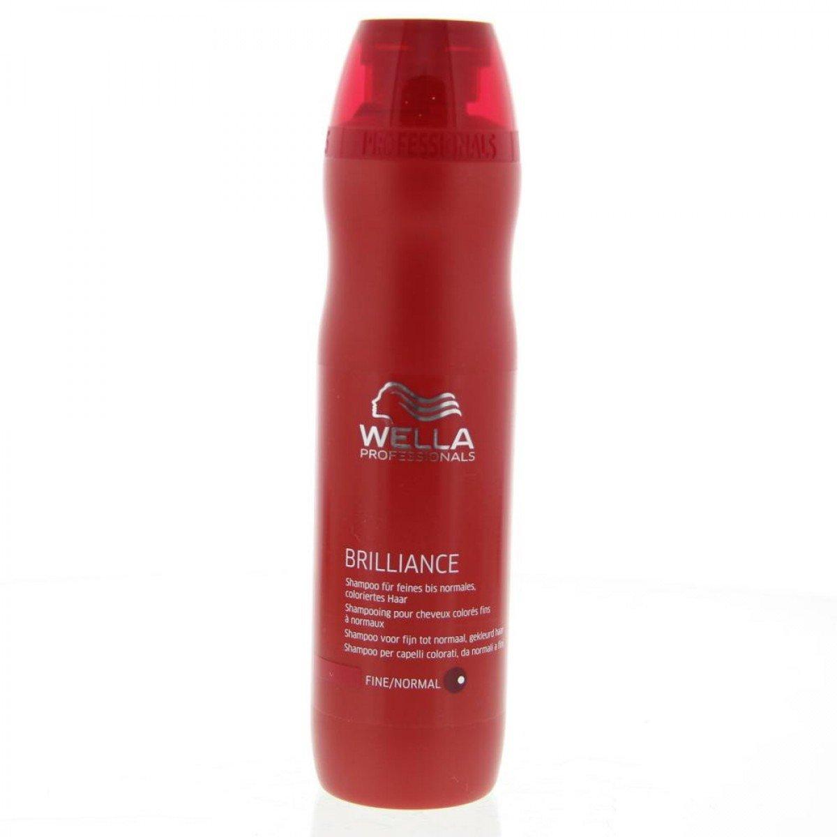 wella professionals shampoing pour cheveux colors fins ou normaux 250ml - Quel Shampoing Pour Cheveux Colors