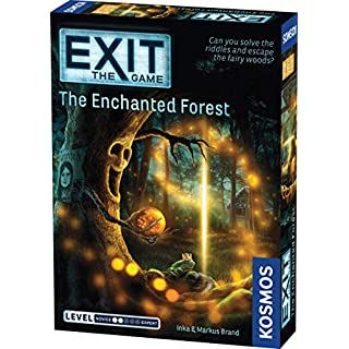 EXIT: The Enchanted Forest| Escape Room Game in a Box| EXIT: The Game – A Kosmos Game | Family – Friendly, Card-Based at-Home Escape Room Experience for 1 to 4 Players, Ages 12+