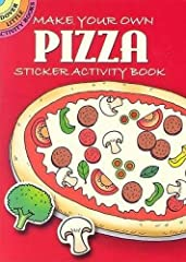 How do you like your pizza? With pepperoni? Mushrooms and olives? Broccoli? Peppers? Make it exactly the way you want it with this generously proportioned pie crust, printed on the inside covers, and 80 colorful sticker toppings. All s...