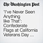 'I've Never Seen Anything like That': Confederate Flags at California Veterans Day Parade | Kristine Guerra
