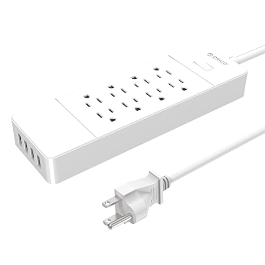Review ORICO 8-Outlet Surge Protector
