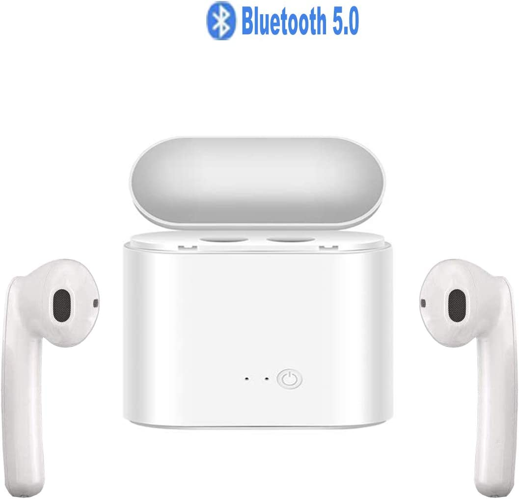 Wireless Earbuds,Bluetooth 5.0 with Charging Case Waterproof Stereo Headphones with mic