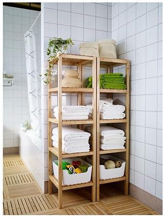 Ikea MOLGER - Estantería, Abedul: Amazon.es: Hogar