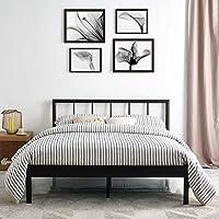 Modway MOD-5544-BRN-SET Gwen Bed Frame, Full, Brown