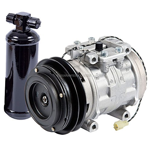 OEM AC Compressor w/A/C Drier For Toyota Pickup 1984 1985 1986 1987 1988 - BuyAutoParts 60-87514R4 New ()