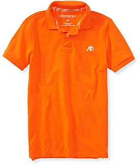 7c0afb96 American Eagle Outfitters Mens Classic Fit Mesh Solid Polo T-shirt ...