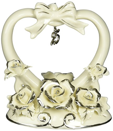 - Appletree Design 25th Anniversary Rose Cake Topper, 4-1/2-Inch Tall