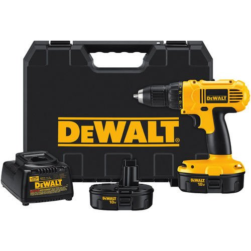 DeWALT DC759KA 18-Volt NiCad 1/2-Inch Cordless Drill/Driv...