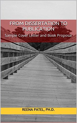 From dissertation to publication sample cover letter and book from dissertation to publication sample cover letter and book proposal by patel reena fandeluxe Images
