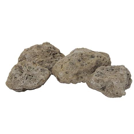POPETPOP 4 unids Acuario Piedras pómez Flotante Decorativo Rocas pecera Decoraciones Adornos (más Corto Que