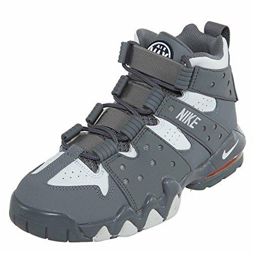 Nike Kids Air Max Cb 94 (gs), Grigio Chiaro / Bianco - Blu Scuro - Grigio Arancio Totale