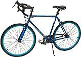 Takara Kabuto Single Speed Road Bike, 700c, Black/Yellow, Large/57cm Frame
