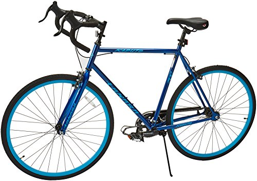 Takara Renzo Fixie Bike, 57cm/Large, Green/Blue