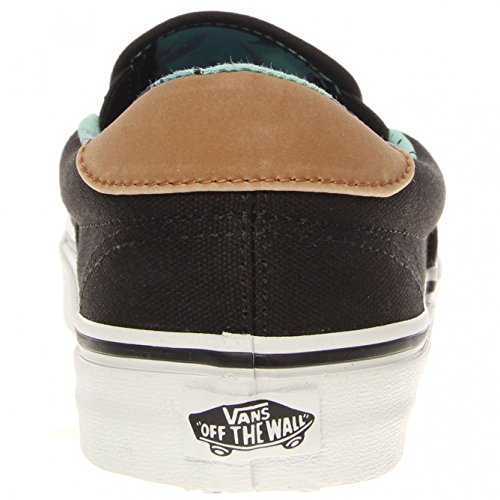 Vans - Zapatillas para hombre negro negro Talla única negro negro Talla:40,5 EU negro - negro