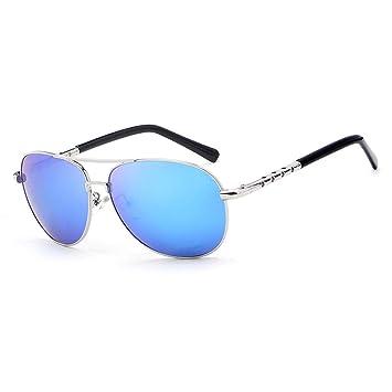 PANDIUK Gafas de Sol de Moda sin Marco clásicas para Hombres ...