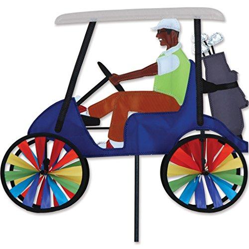 17 In. Golf Cart Spinner - Blue ()
