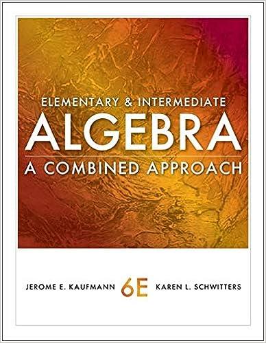 Cengage Advantage Books Elementary And Intermediate Algebra