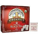 Newman's Own Organic Black Tea - 100 Bags,7.1 OZ