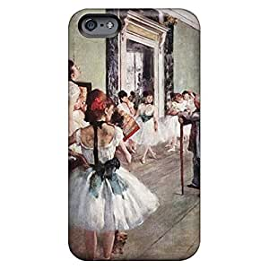 Colorful phone cover skin Durable Iphone Cases case cover iphone 5C - ballet dancers edgar degas