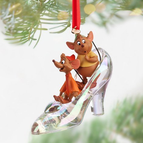 Fairy Godmother Plus · Jaq and Gus Slipper Sketchbook Jaq and Gus Slipper  Sketchbook · Cinderella Shoe Ornament - Cinderella Christmas Tree Ornaments
