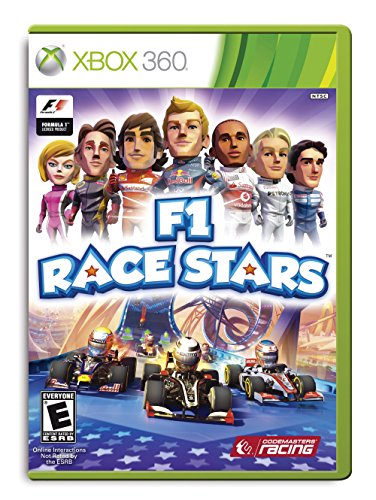 F1 Race Stars - Cars Games For Xbox 360