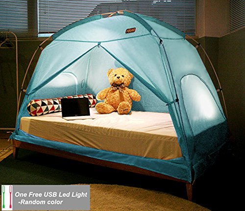 Great Features Of TQUAD Floorless Indoor Privacy Tent on Bed for Insulation Warm Sleep in Drafty Roo...