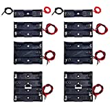 8 Pack AA Battery Holder Bundle with Wire 1 AA