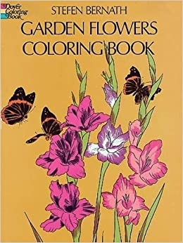 garden flowers coloring book dover nature coloring book - Flower Coloring Book