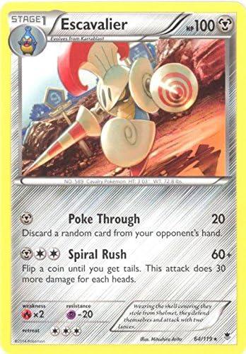 Escavalier 64//119 Rare Pokemon Card