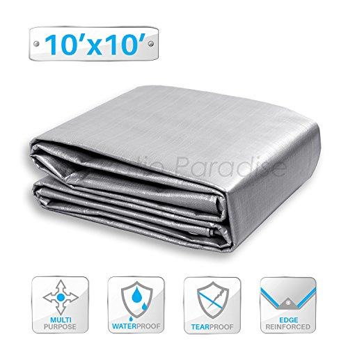 Cheap  Patio Paradise 10' x 10' General Multi-Purpose Tarpaulin Canopy Tent Shelter Waterproof..