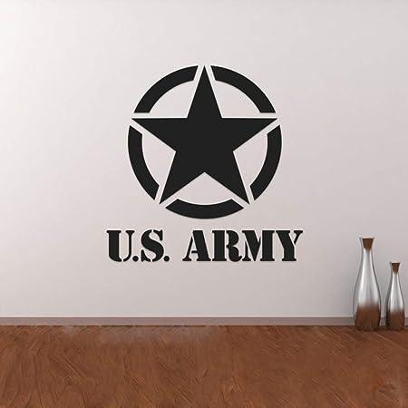 xingbuxin Nosotros Ejército Militar Estrella Extraíble Pegatinas ...